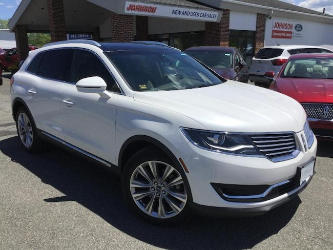 2016 Lincoln MKX Reserve Certified SUV