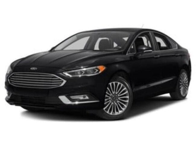 2018 Ford Fusion Titanium Certified SEDAN