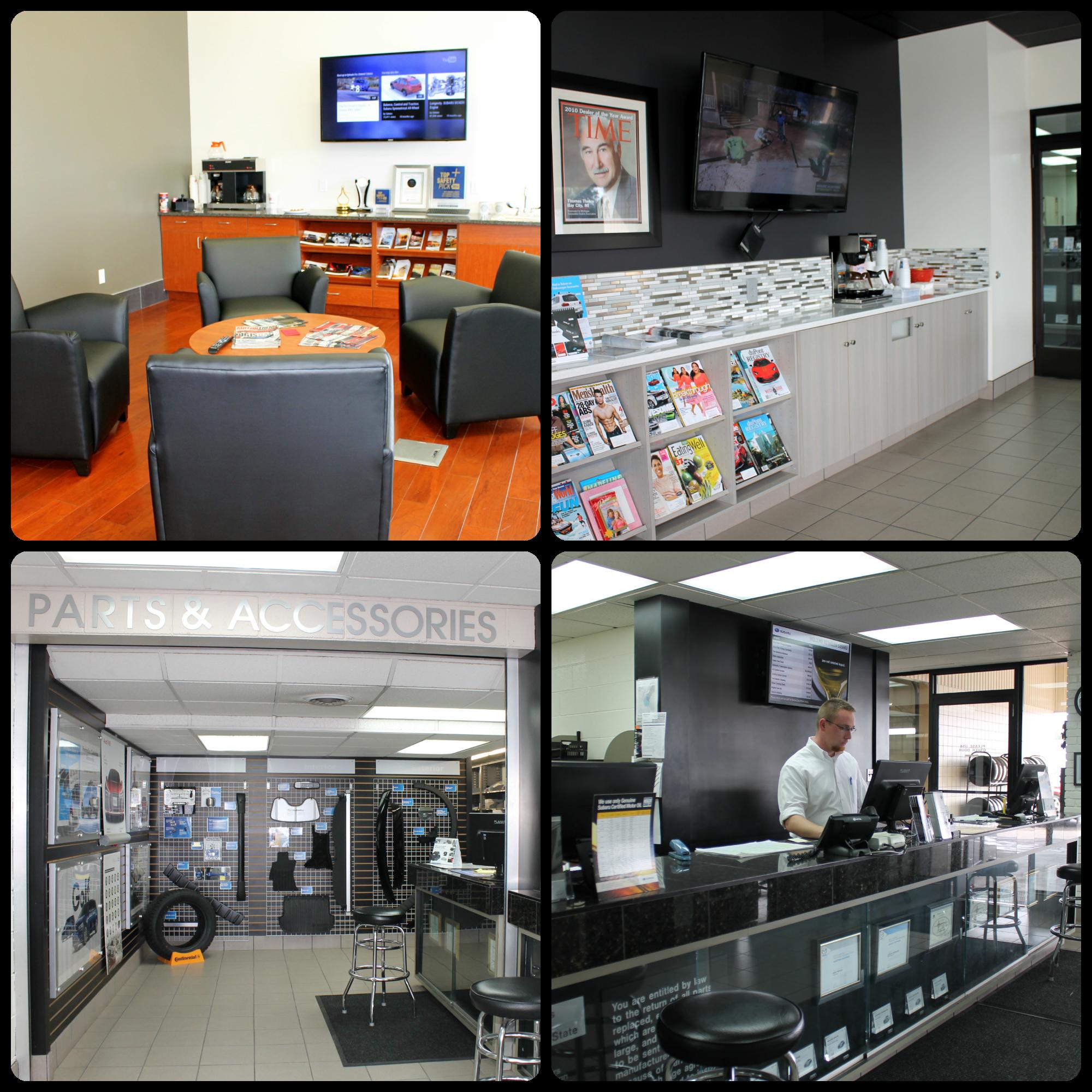 Auto Service Center In Bay City Mi Thelen Subaru Service Car