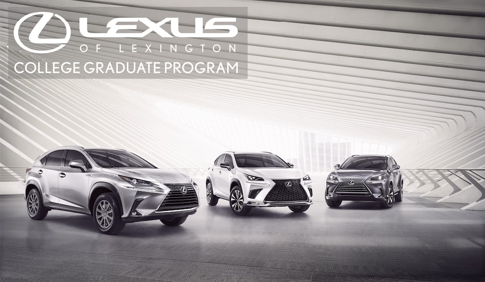 *Lexus College Graduate Reward Program*