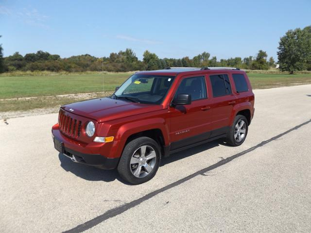 2017 Jeep Patriot High Altitude 4x4 Sport Utility