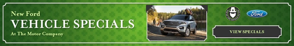 New Ford Vehicle Specials - March 2021