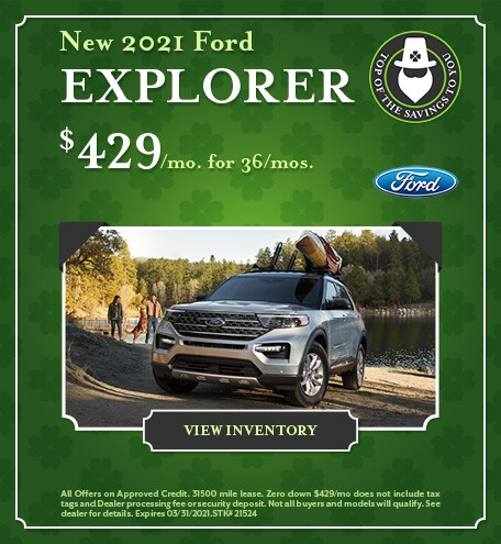 New 2021 Ford Explorer - March 2021