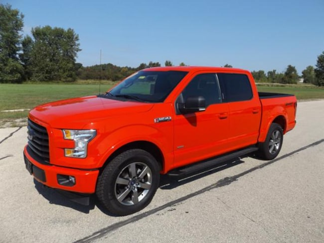 2017 Ford F-150 XLT 4WD Supercrew 5.5 Box Crew Cab Pickup