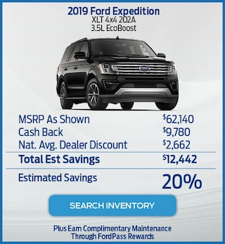 2019 Ford Expedition XLT 4x4 202A  3.5L EcoBoost