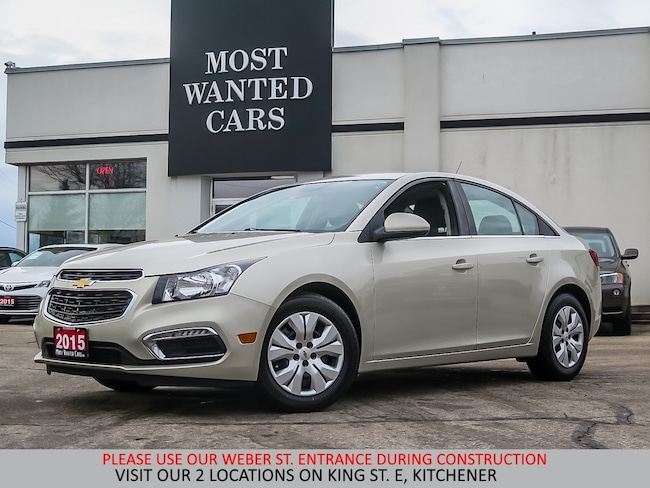 2015 Chevrolet Cruze 1.4L TURBO | BLUETOOTH Sedan
