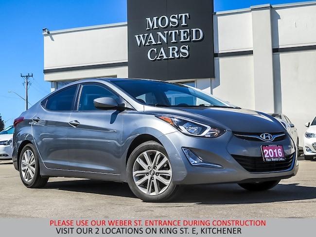 2016 Hyundai Elantra SPORT | CAMERA | ALLOYS | BLUETOOTH Sedan