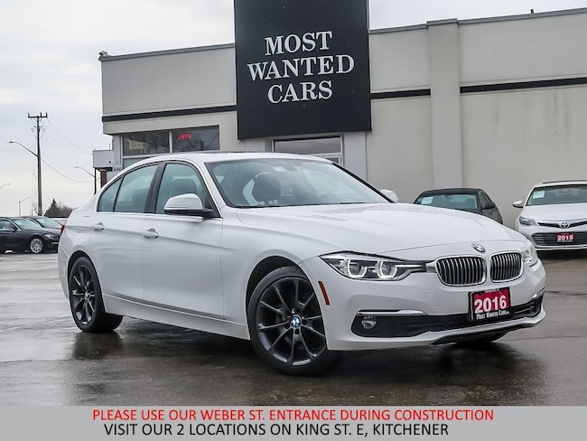 2016 BMW 328xi xDrive | NAVIGATION | SUNROOF | 18 INCH BLACK ALLO Sedan