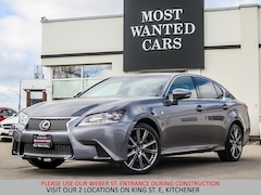 2014 LEXUS GS 350 FSPORT | NAVIGATION | RED LEATHER Sedan