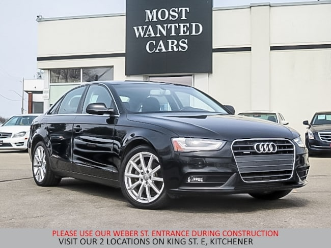 2014 Audi A4 2.0T QUATTRO TIP | NAVIGATION | SUNROOF Sedan