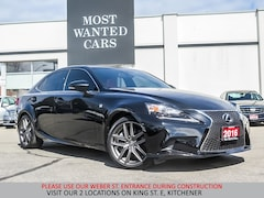 2016 LEXUS IS 300 AWD F SPORT | COOLED SEATS | CAMERA | NAVIGATION Sedan