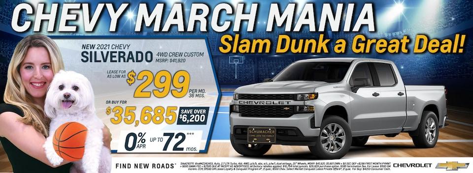 2021 Chevrolet Silverado March