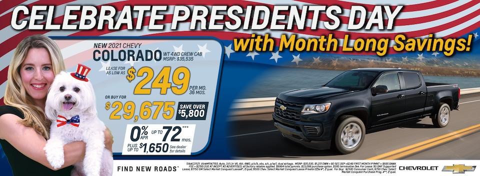 2021 Chevrolet Colorado February