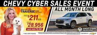 2020 Chevrolet Traverse November