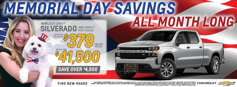 2021 Chevrolet Silverado May