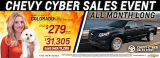 2021 Chevrolet Colorado November