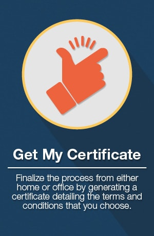 Get My Certificate