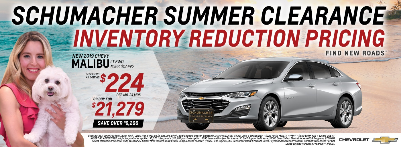 Chevrolet Lease Specials in Little Falls, Denville, Clifton, and