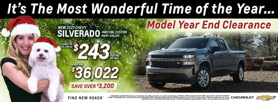 2021 Chevrolet Silverado December