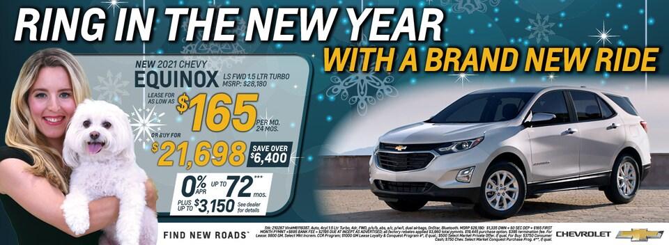 2021 Chevrolet Equinox January