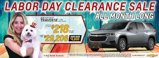 2020 Chevrolet Traverse September