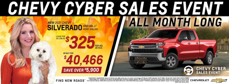 2021 Chevrolet Silverado November