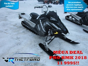 2018 POLARIS 800 RMK ASSAULT 155 POWDER ES