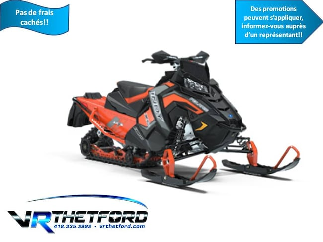2019 POLARIS 800 INDY XC 129 1.5 STORM SNOWCHECK TUNNEL ET RAIL ORANGE