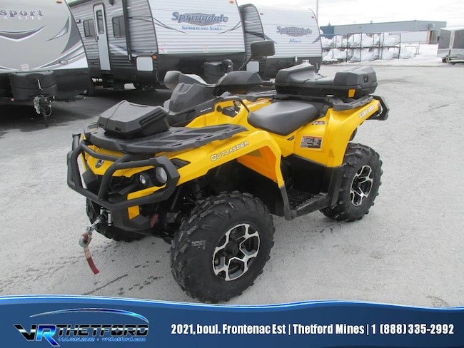 2013 CAN-AM Outlander 800R XT-P PS