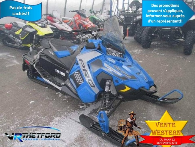 2017 POLARIS SWITCHBACK 800 PRO-S SNOWCHECK EDITION