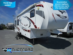 2011 HEARTLAND CYCLONE 2812 FIFTH-WHEEL LOISIRS
