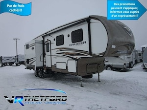 2014 CROSSROADS RV CRUISER 31DB 3 extensions, Lits Superposés