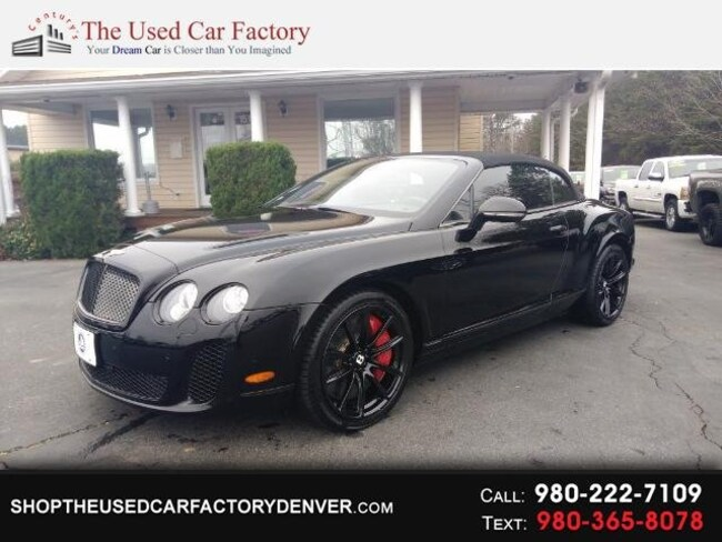2012 Bentley Continental Supersports Base Convertible