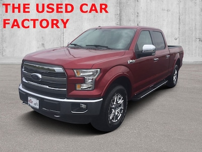 2015 Ford F-150 Lariat w/HD Payload Pkg 4WD SuperCrew 157 Lariat w/HD Payload Pkg