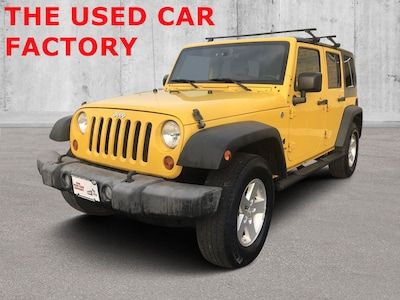 2008 Jeep Wrangler Unlimited X 4WD  Unlimited X