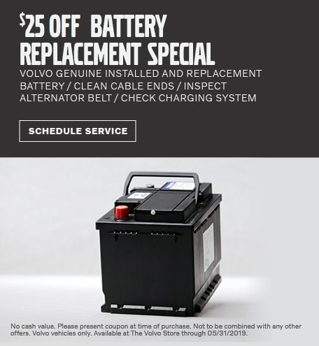 May | $25 Off Battery