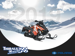 2019 POLARIS 600 INDY XC 129 1.5
