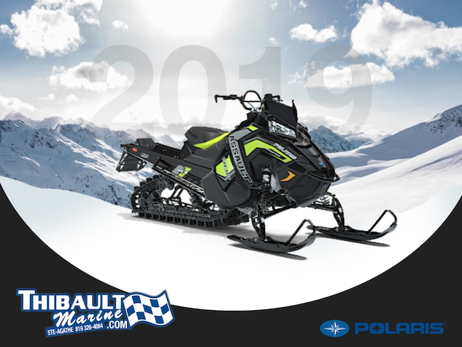 2019 POLARIS 800 RMK ASSAULT 155 2.25