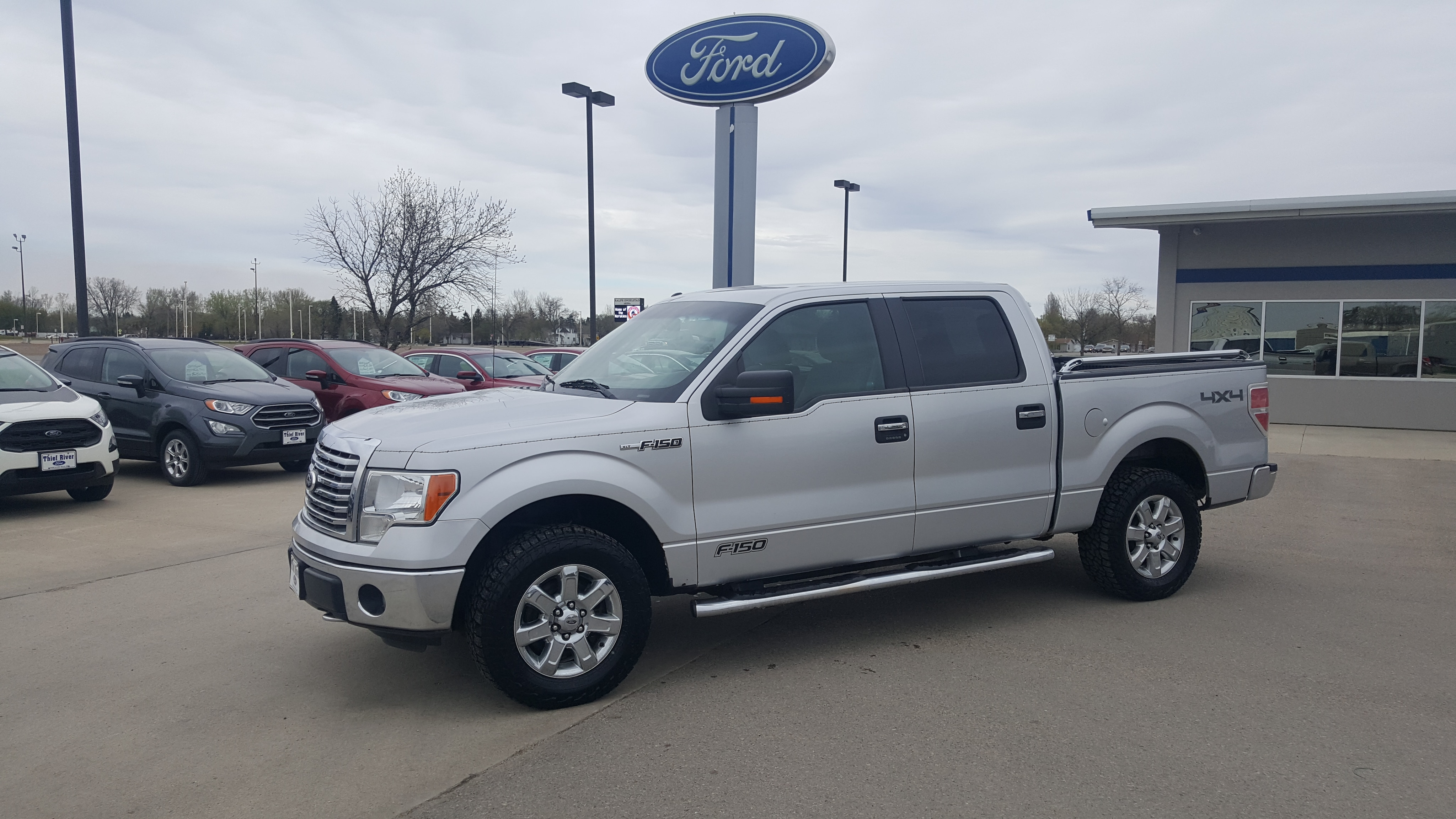 2011 Ford F-150 Crew Cab Short Bed Truck