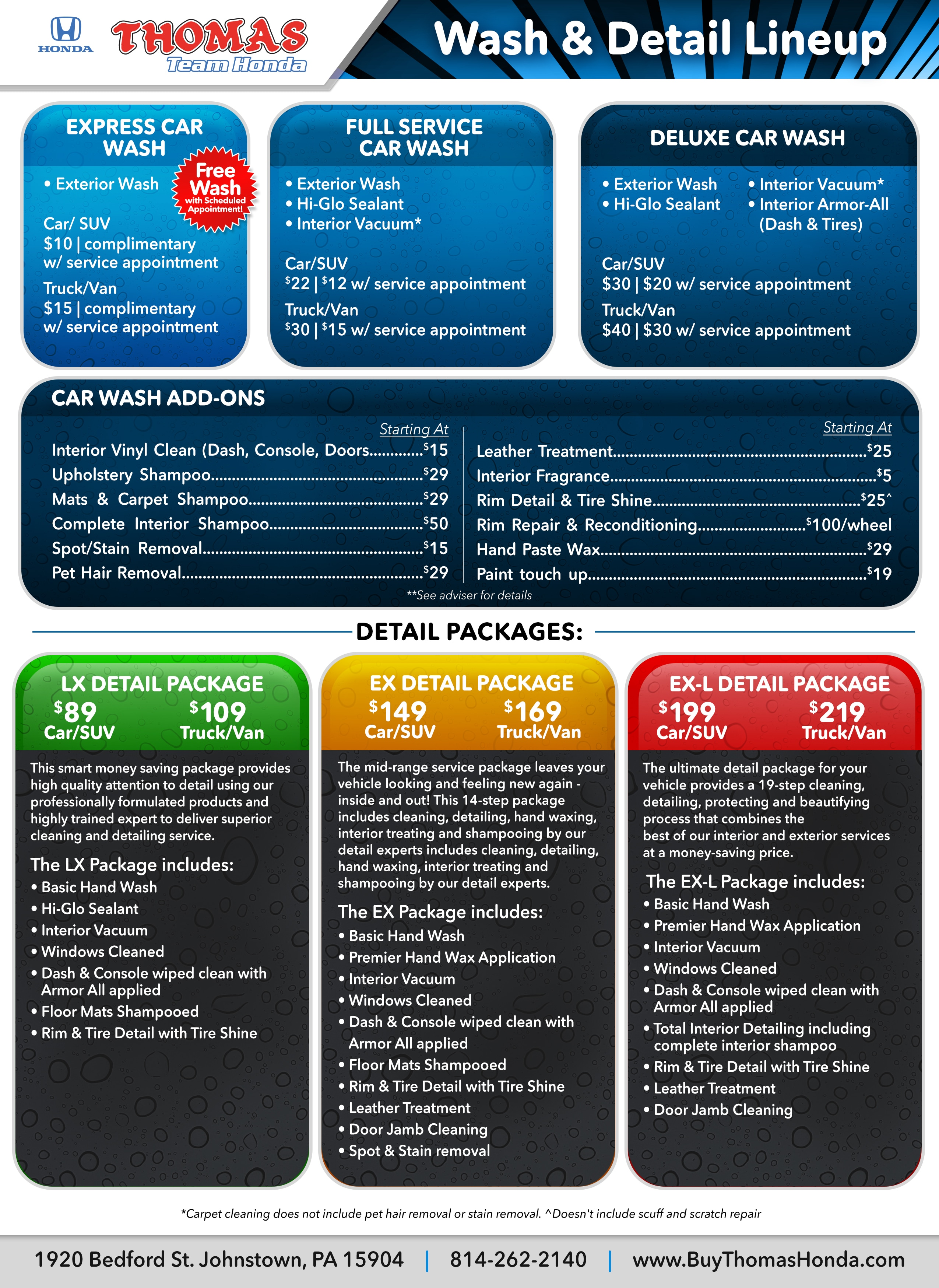 Wheely Clean Car Wash Prices