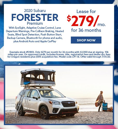 2020 Subaru Forester Premium
