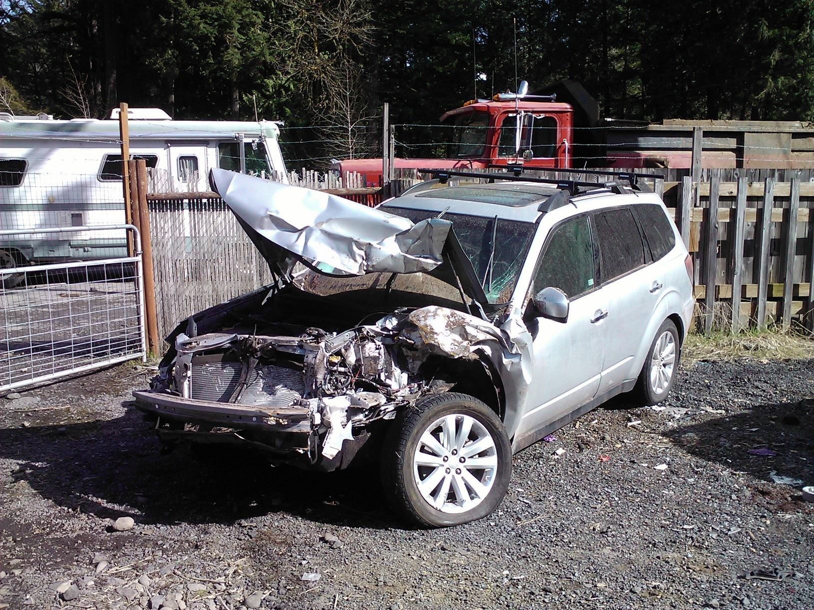 Subaru Safety Bend OR