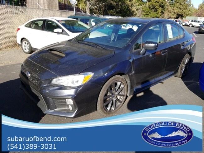Certified 2018 Subaru WRX Premium Sedan for sale in Bend, OR
