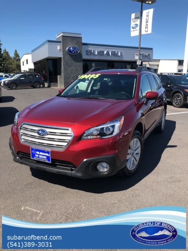 Used 2015 Subaru Outback 2.5i Premium SUV for sale in Bend, OR