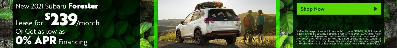 New 2021 Subaru Forester