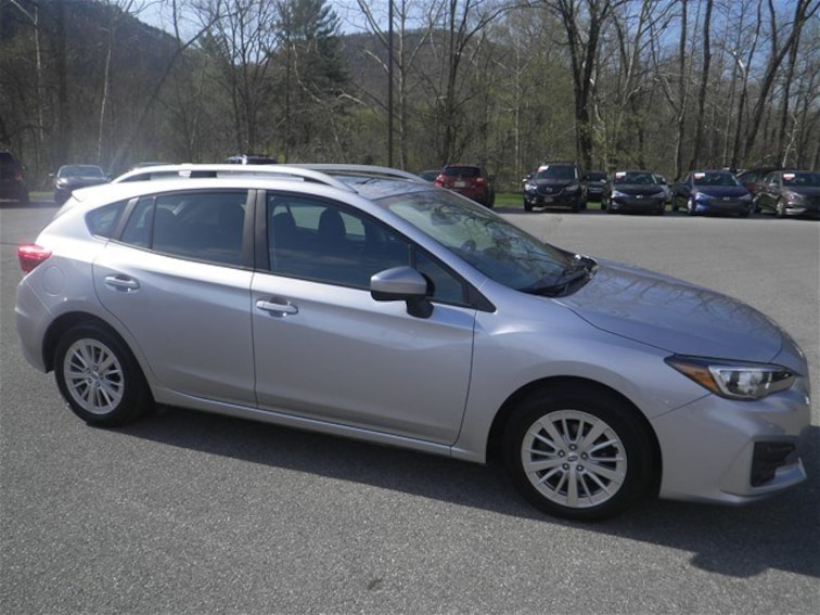 Certified Used 2018 Subaru Impreza 2.0i Premium 5-door for sale in Cumberland, MD
