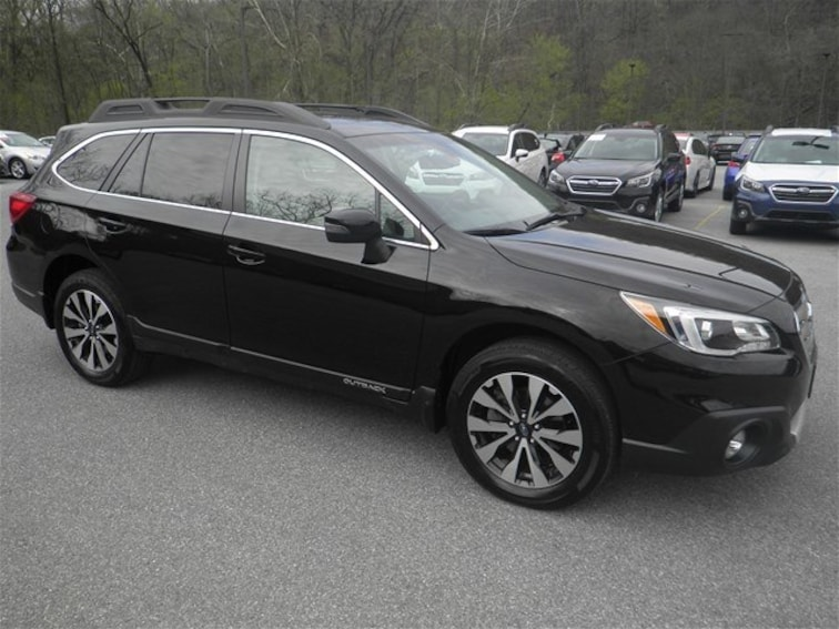 Certified Used 2017 Subaru Outback 2.5i Limited with SUV for sale in Cumberland, MD