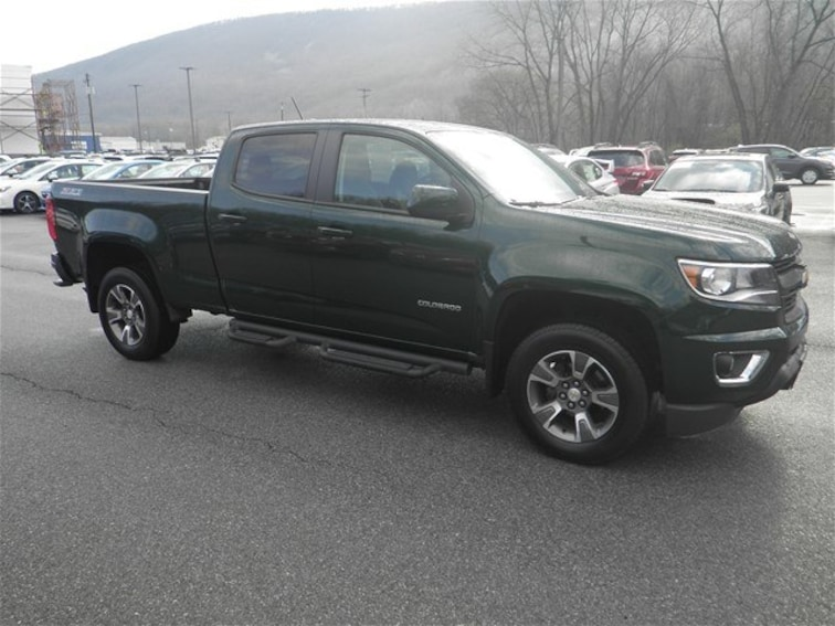 Used 2015 Chevrolet Colorado Z71 Truck Crew Cab for sale in Cumberland, MD