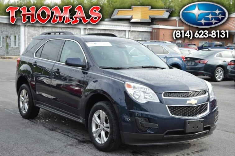 Used 2015 Chevrolet Equinox LT w/1LT SUV UA414671 in Bedford PA