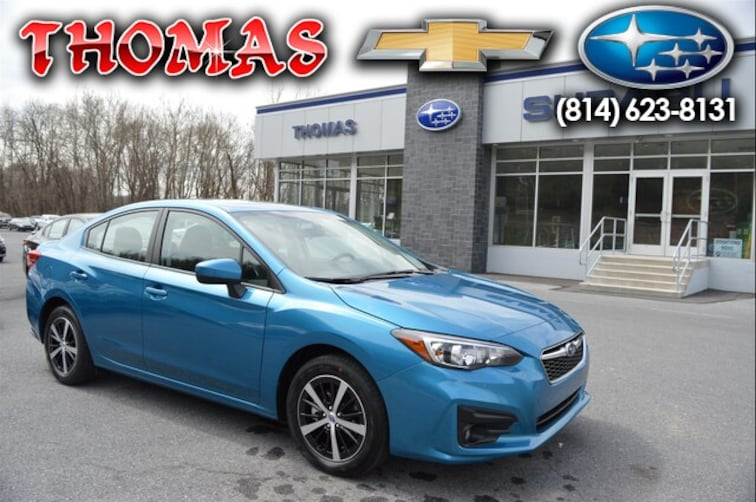New 2019 Subaru Impreza 2.0i Premium Sedan SA615976 For Sale/Lease Bedford, PA